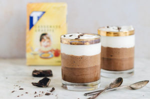 Ombre chocolademousse